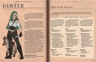 TTRPG Book Layout and Illustration
